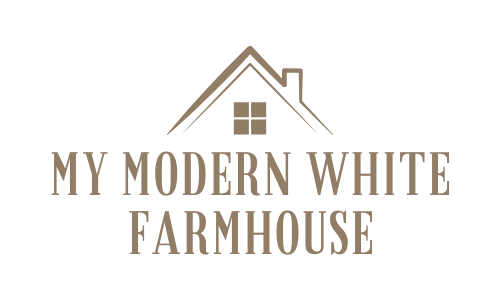 My Modern White Farmhouse