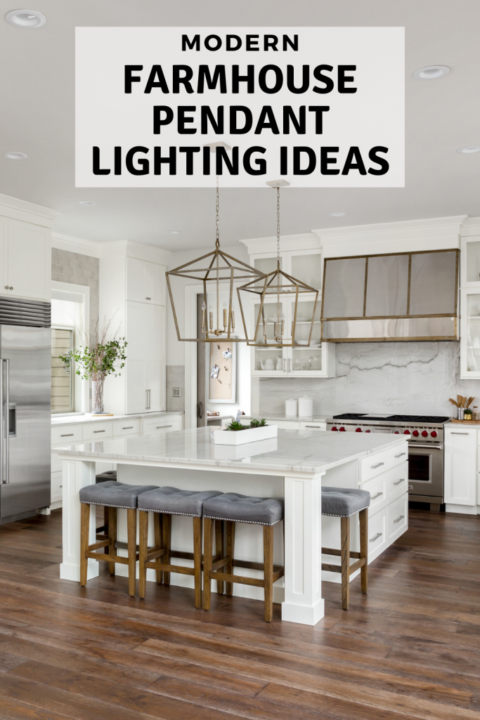 Modern Farmhouse Pendant Lighting Ideas My Modern White Farmhouse