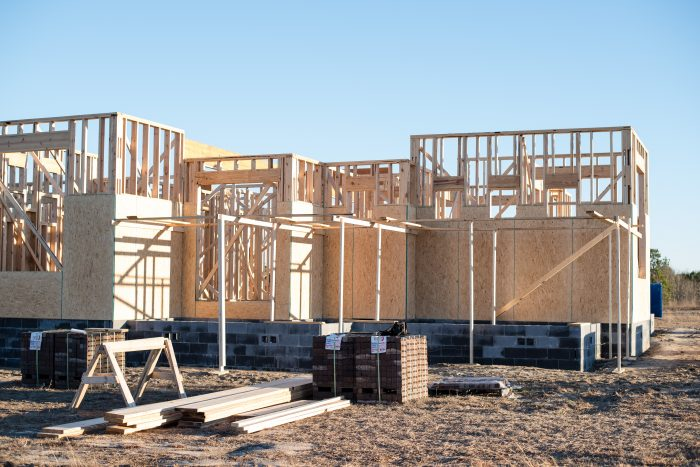 new house framing process