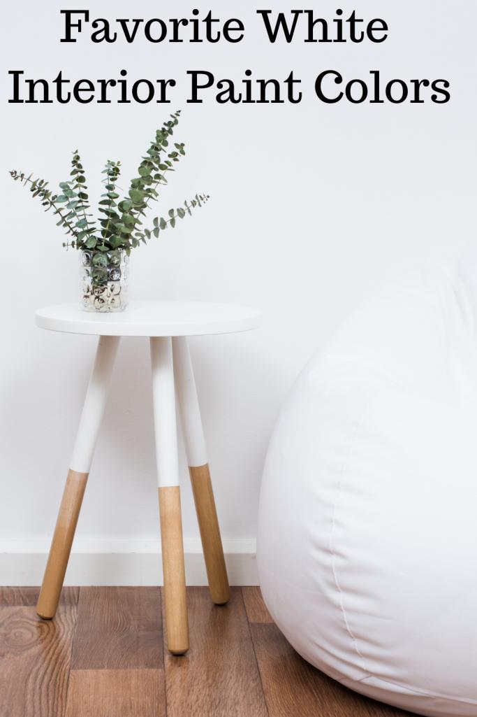 Favorite White Paint Interior Colors
