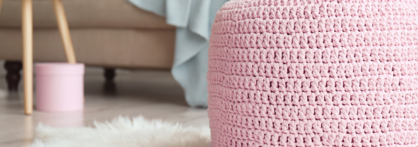 Best Modern Farmhouse Poufs